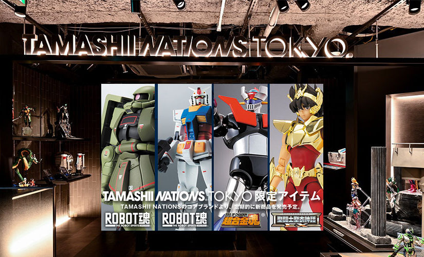 2019GW連休初日「TAMASHII NATIONS TOKYO」in秋葉原