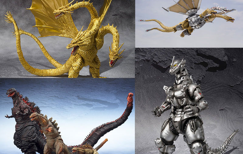 【5月31日】ゴジラシリーズS.H.MonsterArts再販とゴジラ キング・オブ・モンスターズ