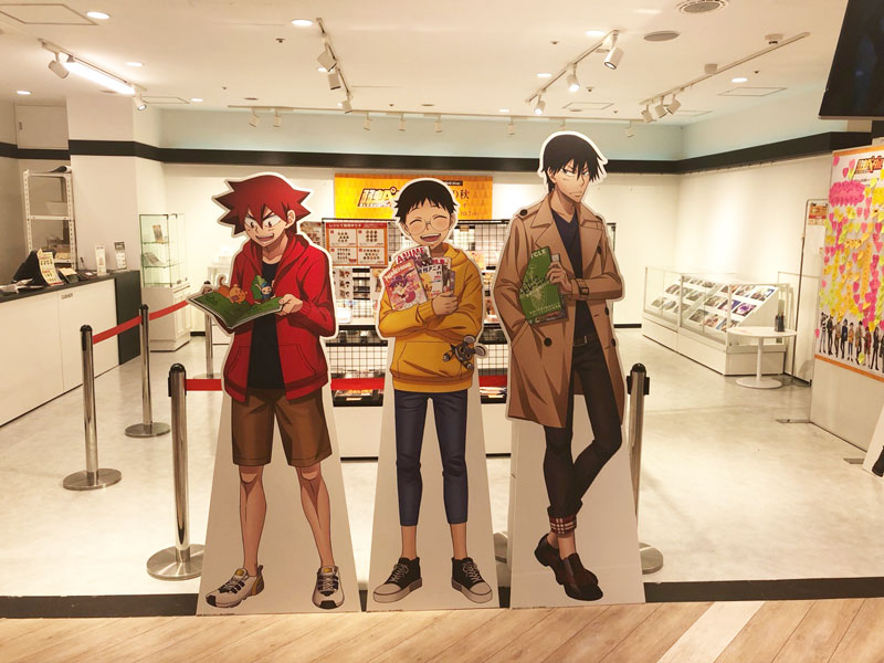 弱虫ペダル GLORY LINE × キャラクレ渋谷マルイ店 9.20-10.7