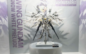 【GFF/メタコン】ウイングガンダムスノーホワイトプレリュードが販売間近!